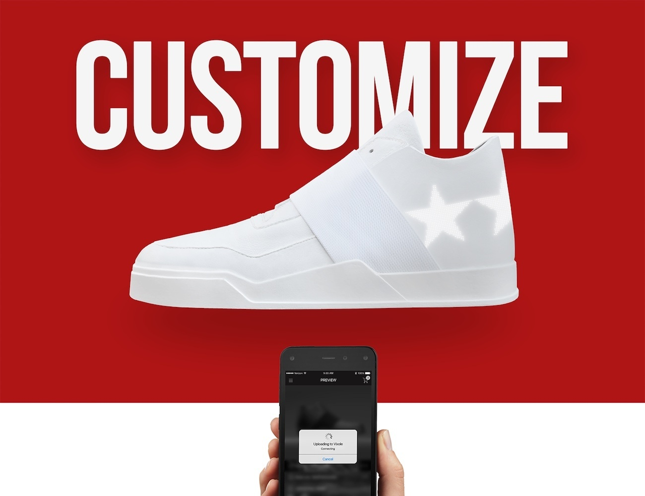 Vixole – Customizable E-Sneaker