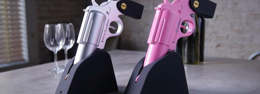 Be a Boss at Every Gathering with the Wine Gun Electric Wine Opener