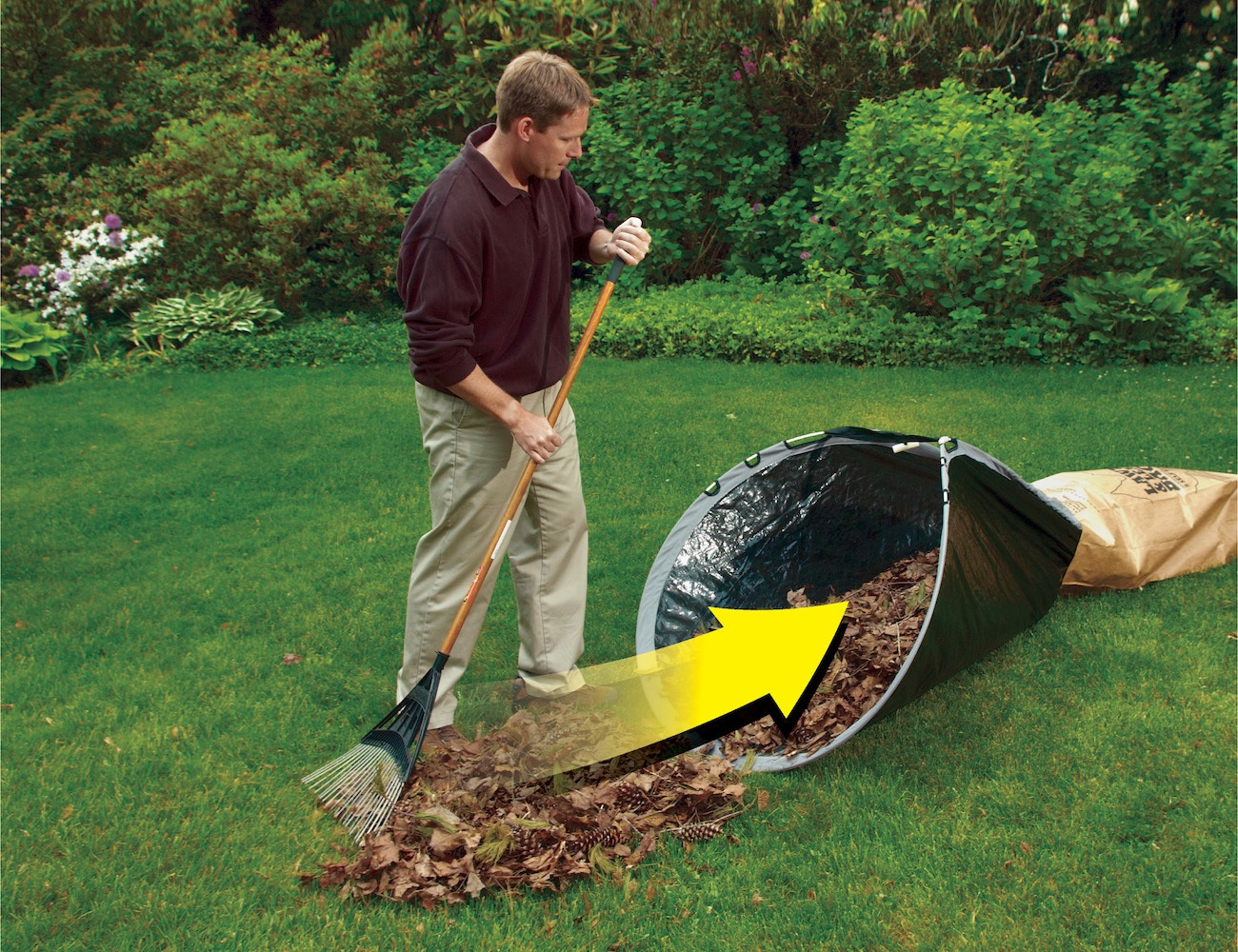 Yard Loader Lawn Funnel