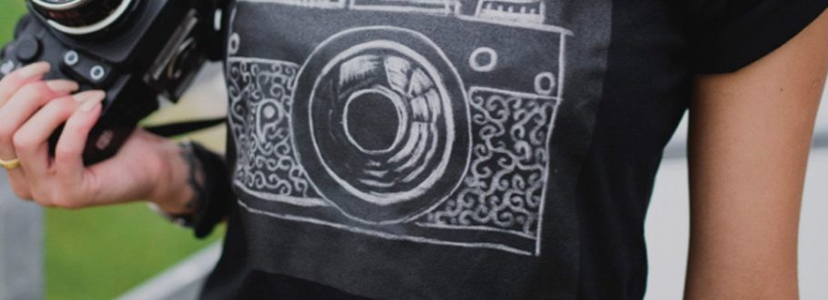 Challky T-Shirt has a Chalkboard Canvas for Your Creativity