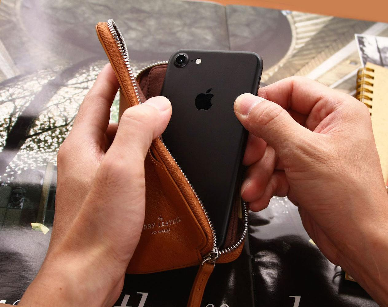Handcrafted iPhone Leather Cases