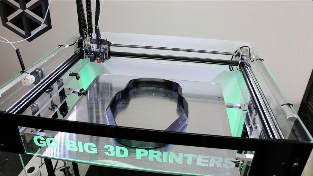 8 Cubic Feet All-in-One Go Big 3D Printer