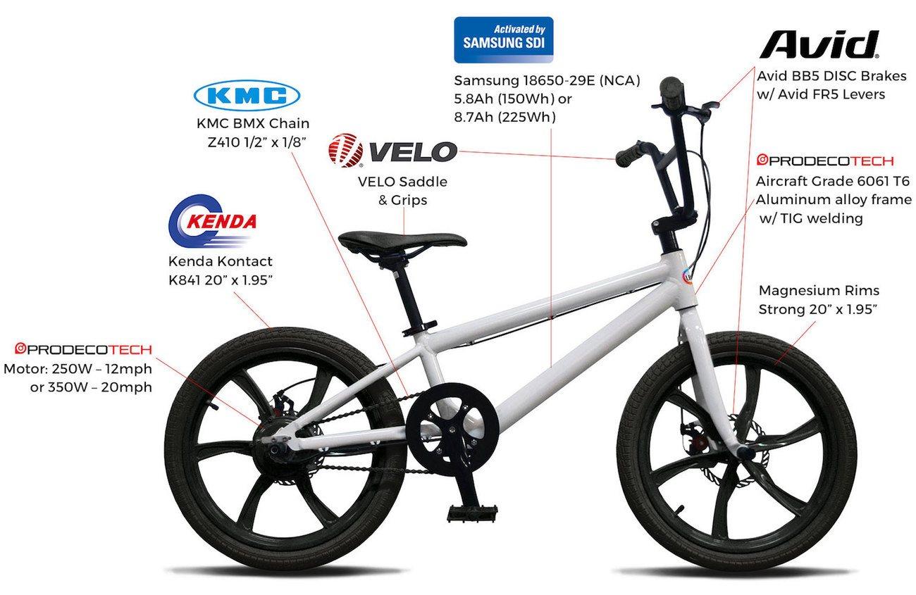 affordable electric bmx bike from life ev gadget flow. Black Bedroom Furniture Sets. Home Design Ideas
