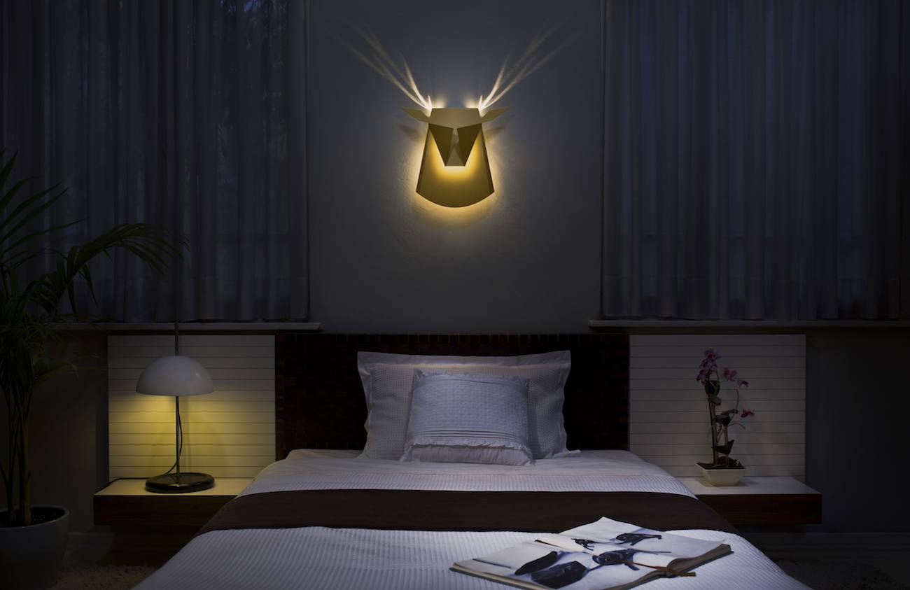 Aluminum Deer LED Wall Light