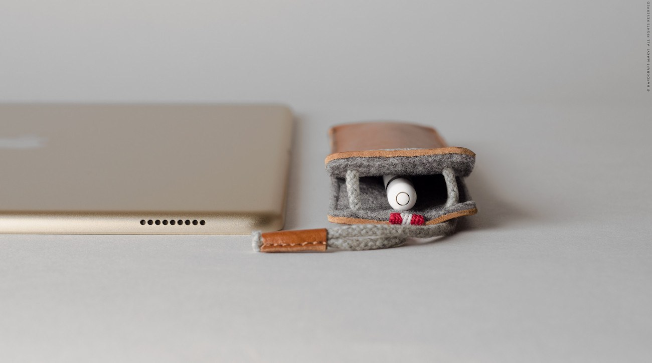 Apple Pencil Case by Hard Graft
