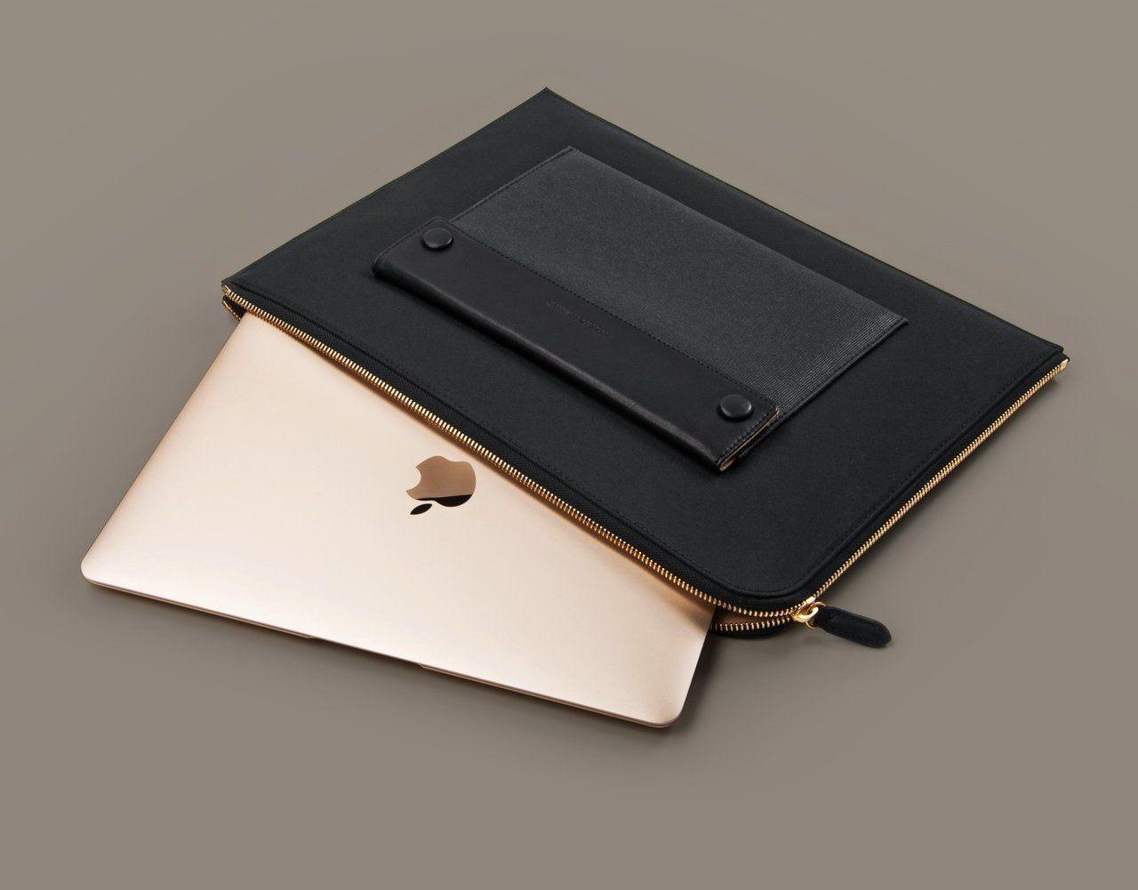 Black Laptop Attaché by North & Sparrow