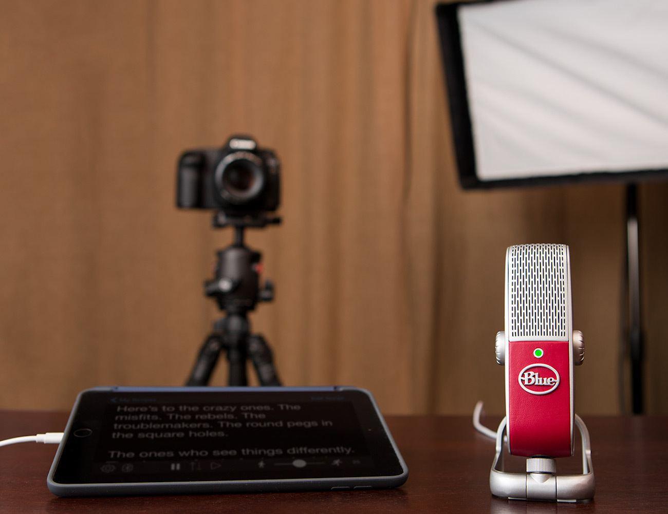 Blue Raspberry Premium USB Microphone