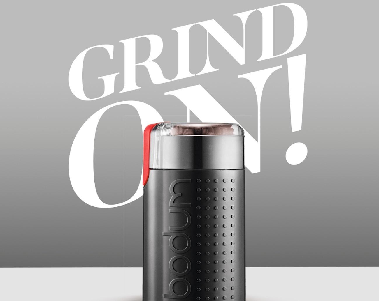 Blade Electric Coffee Grinder by Bodum Bistro