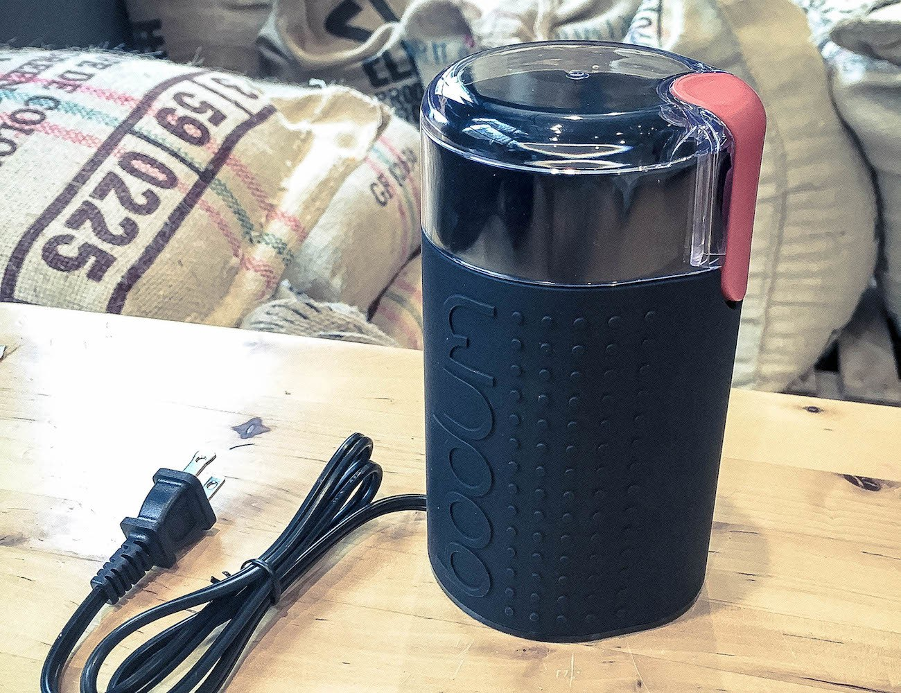 Blade Electric Coffee Grinder by Bodum Bistro