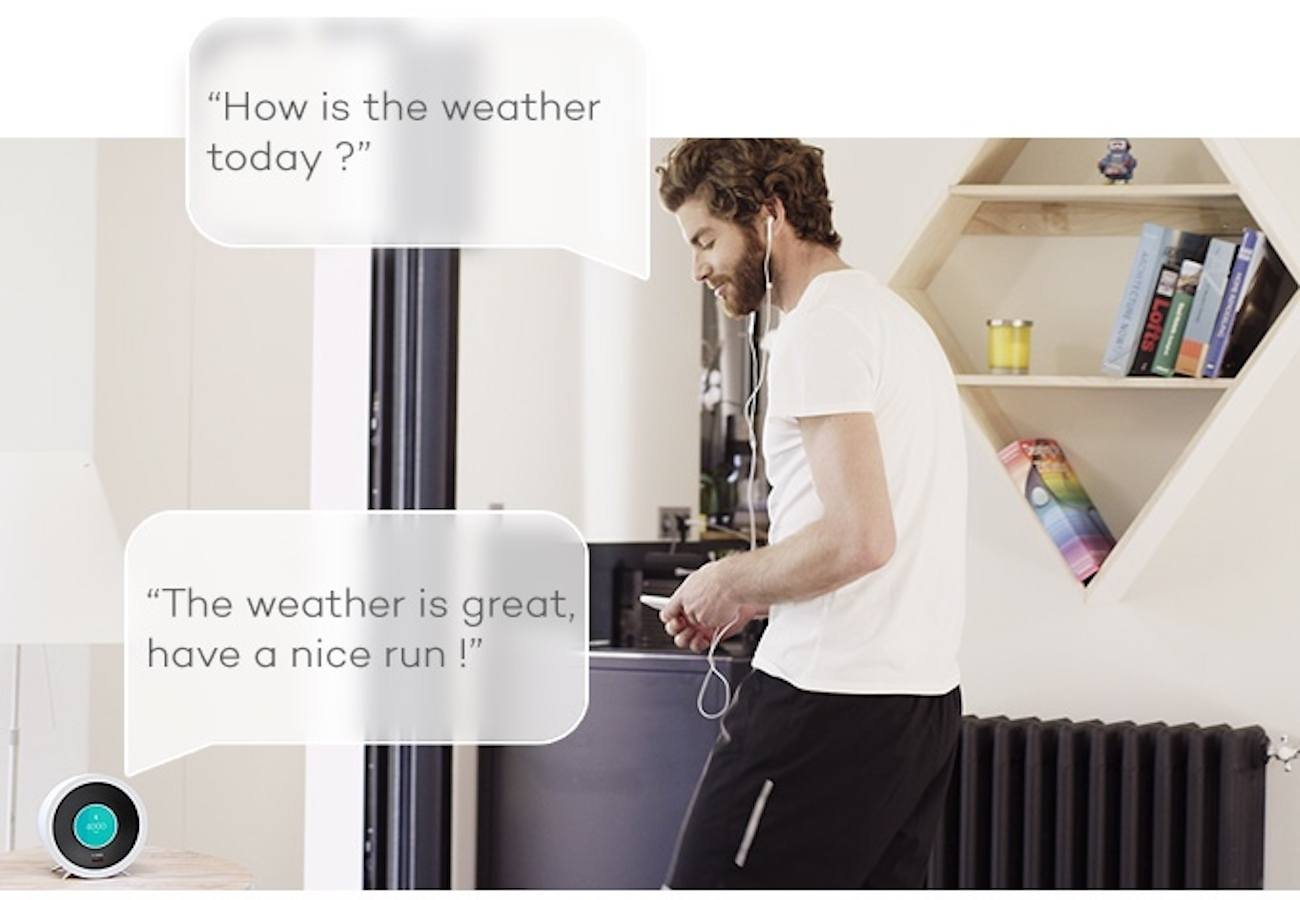 Bonjour Smart AI Alarm Clock