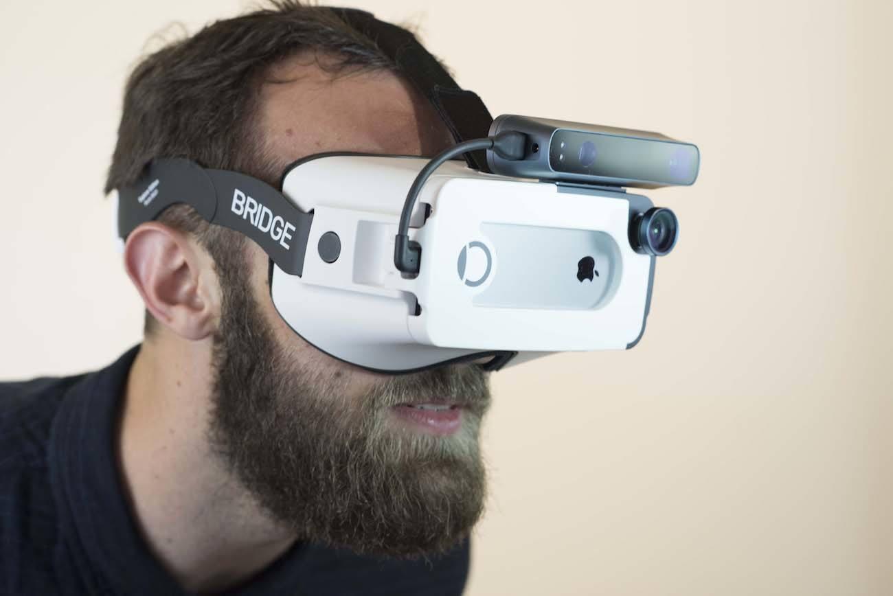 Bridge Mixed Reality VR Headset