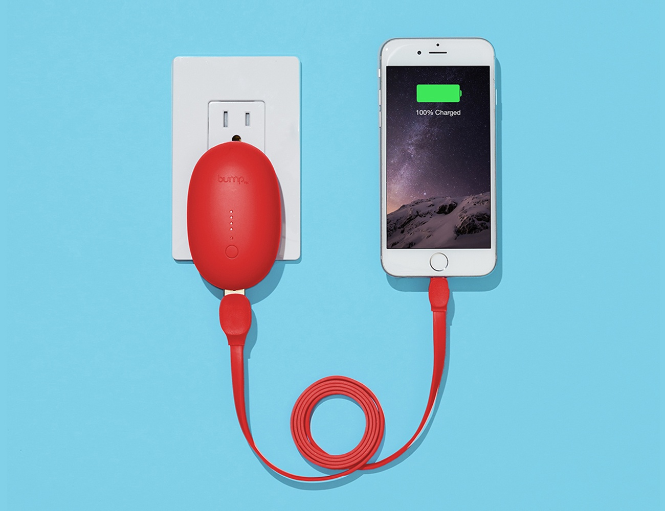 Bump Wall Charger + Power Bank