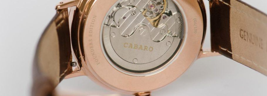 The CABARO Watch Collection Complements any Style