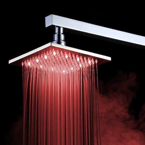 color-changing shower