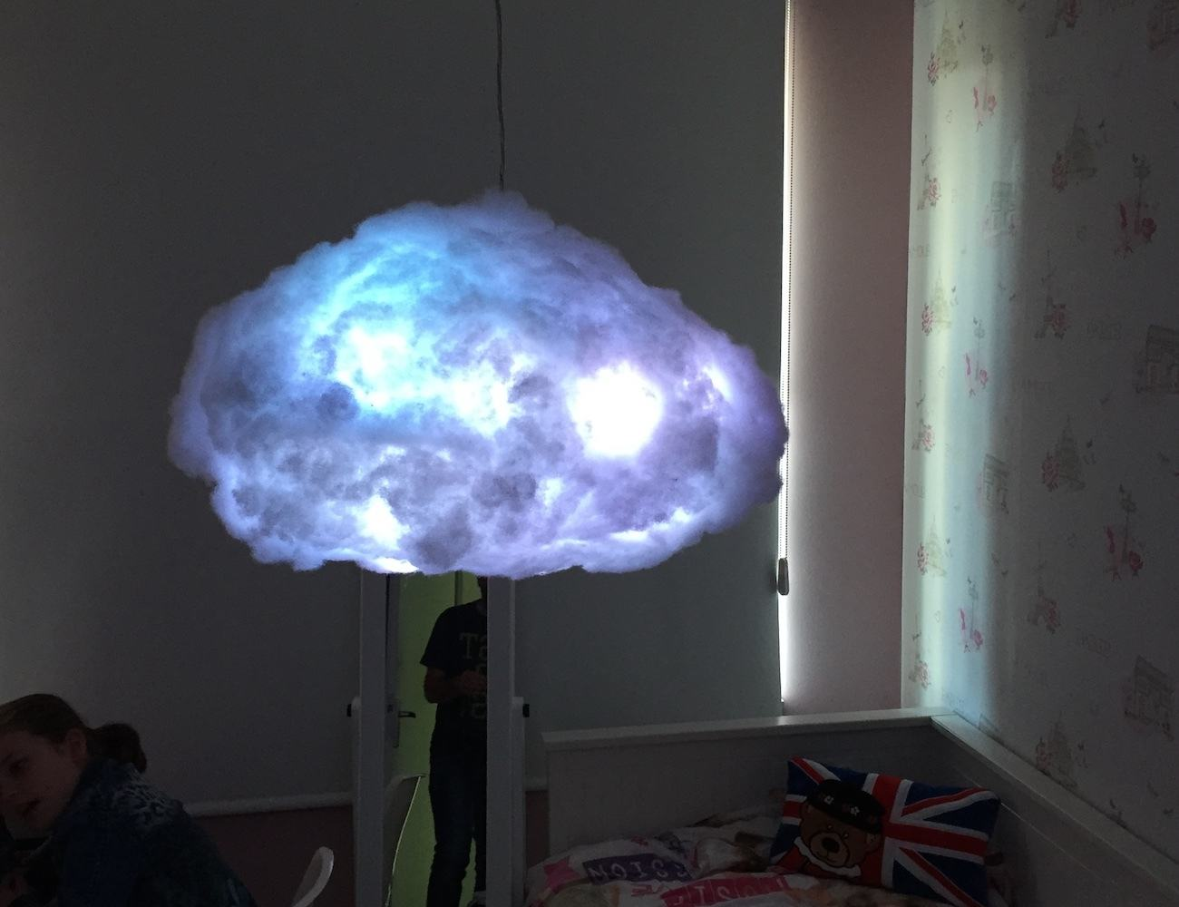 Cloudylight Interactive Lamp