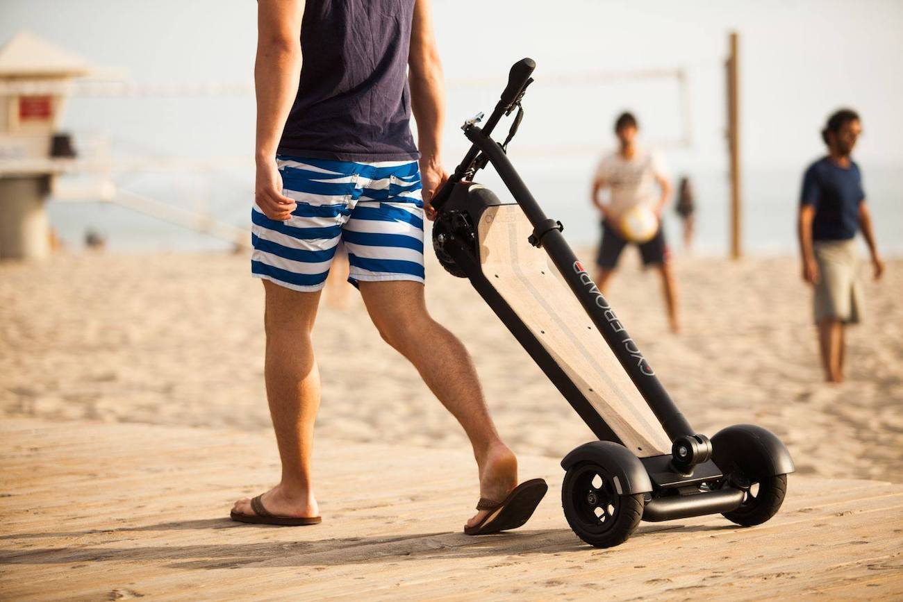 CycleBoard Stand-Up Electric Vehicle