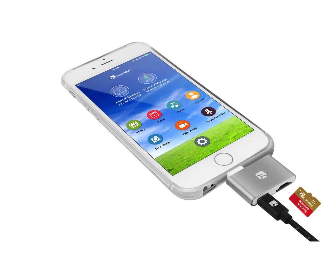 Dash-i MicroSD Reader