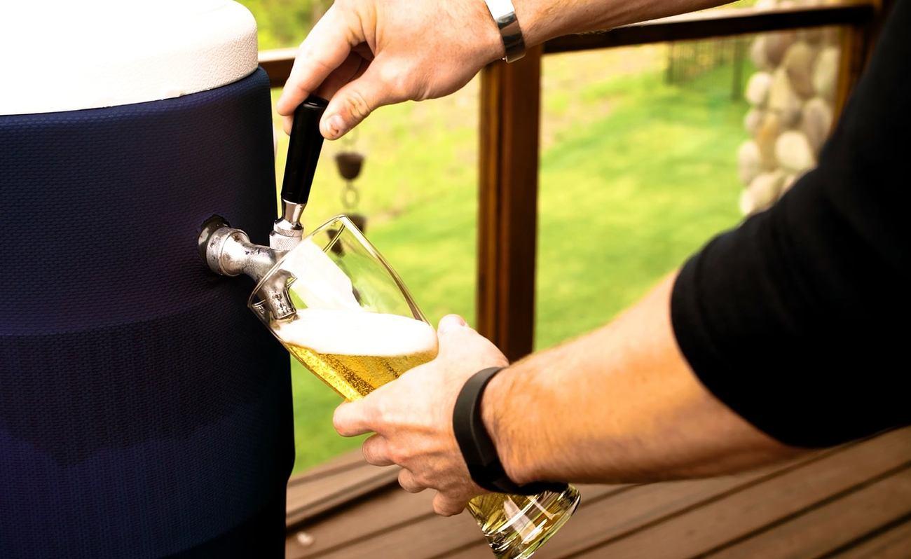 DraftPak+Keg+Beer+Cooler