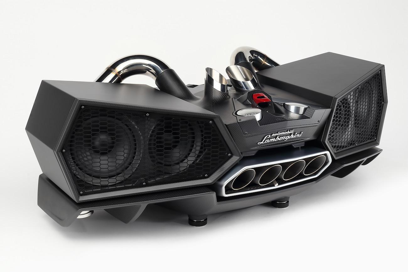 Esavox Carbon Fiber Docking Station Speaker