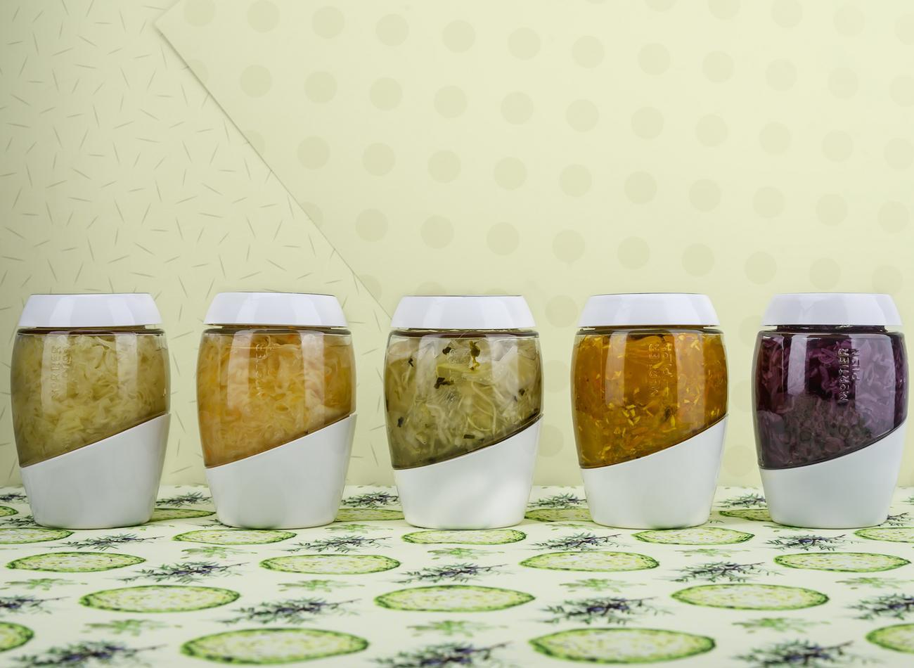 Fermentation Crock 2L – Sauerkraut Special Edition