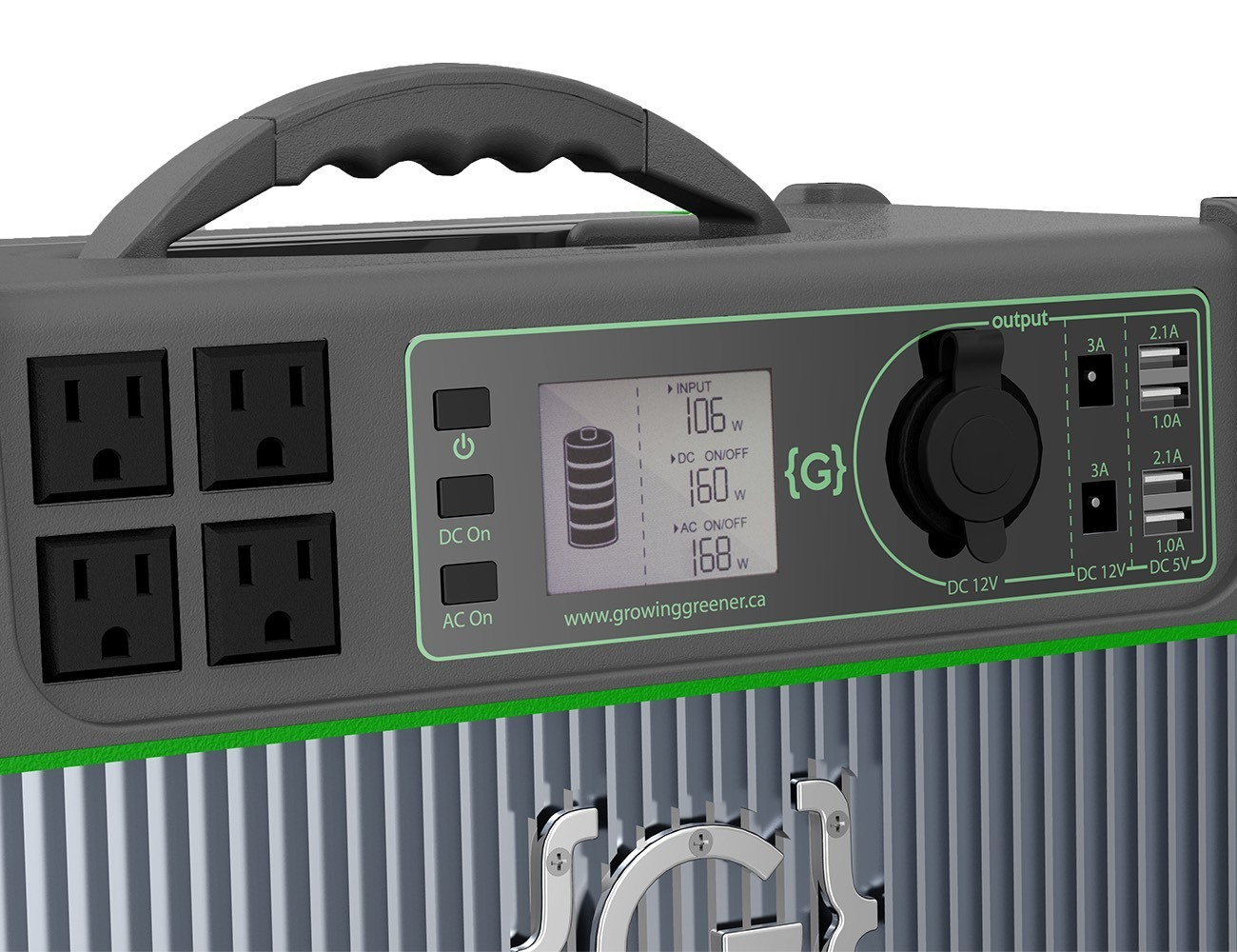 GRENGINE 1000 Eco-Friendly Portable Generator
