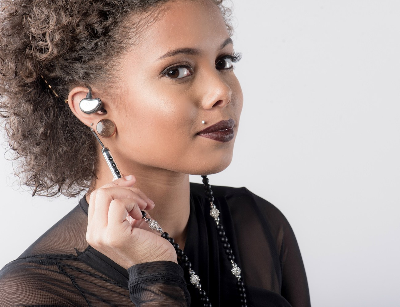 GemPhones Wireless Necklace Earphones