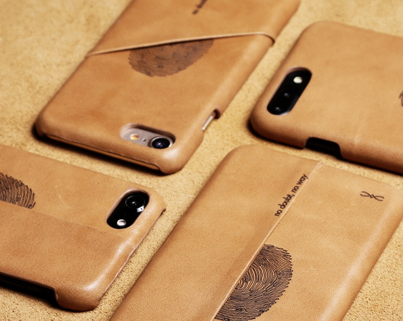 Genuine Leather iPhone 7 Wallet Case