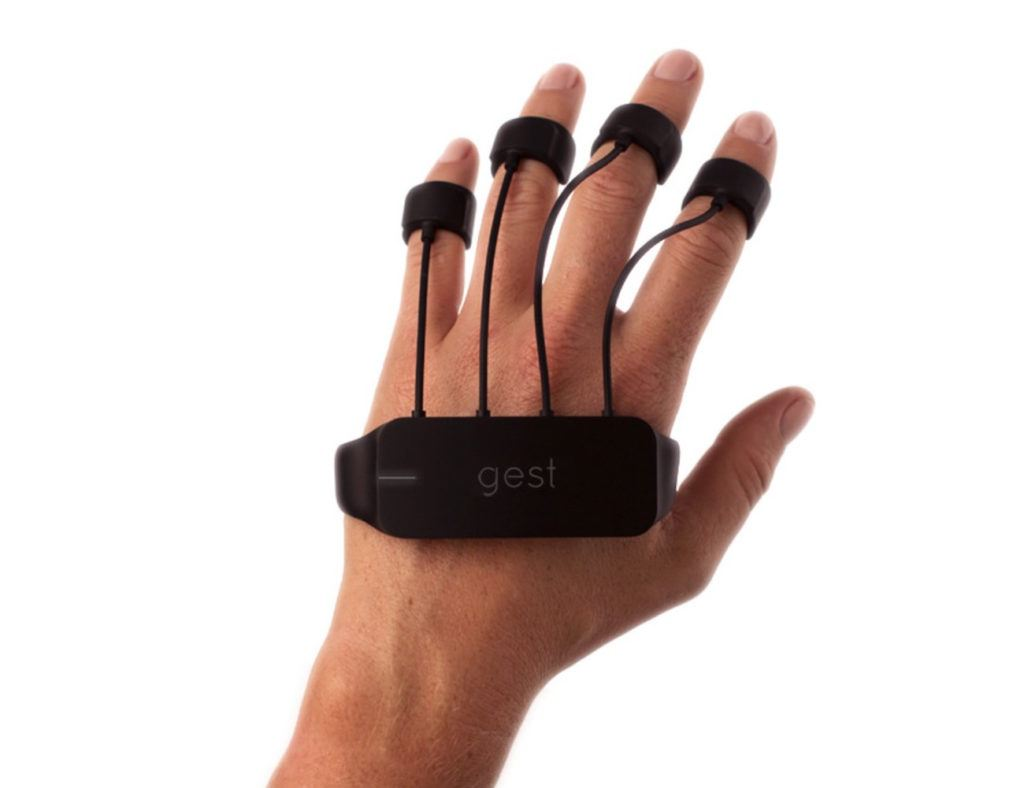gesture controlled wearable