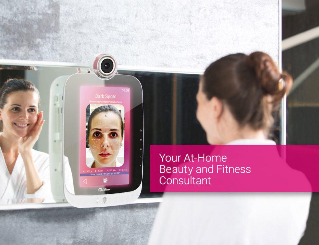 HiMirror for skin analysis