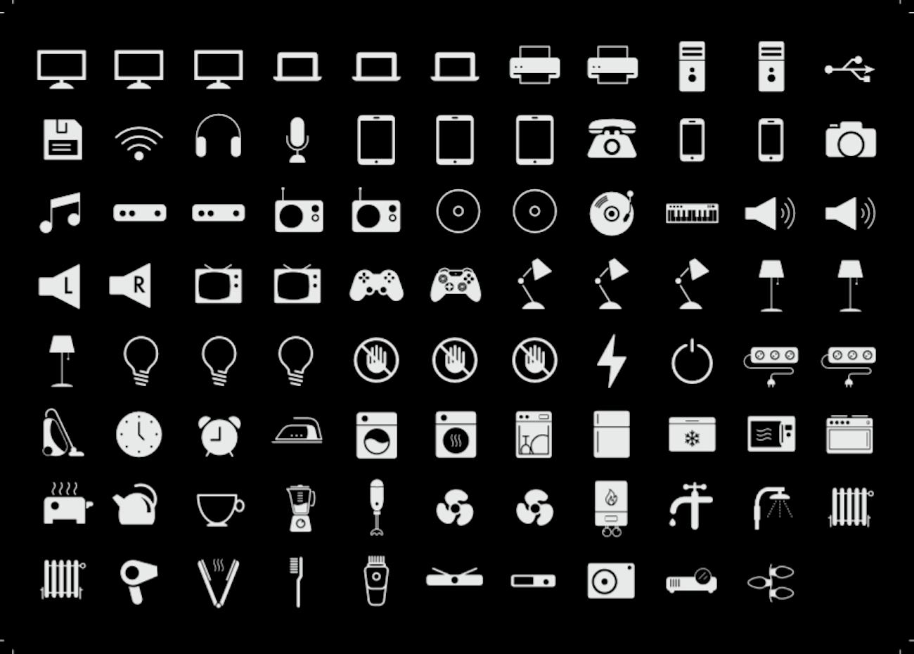 Icon Plug Stickers