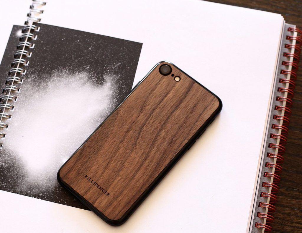 Veil+Wood+iPhone+7+Skin+from+Killspencer