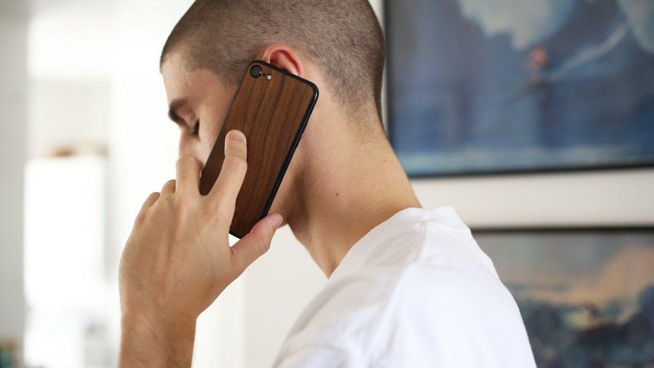 Veil Wood iPhone 7 Skin from Killspencer