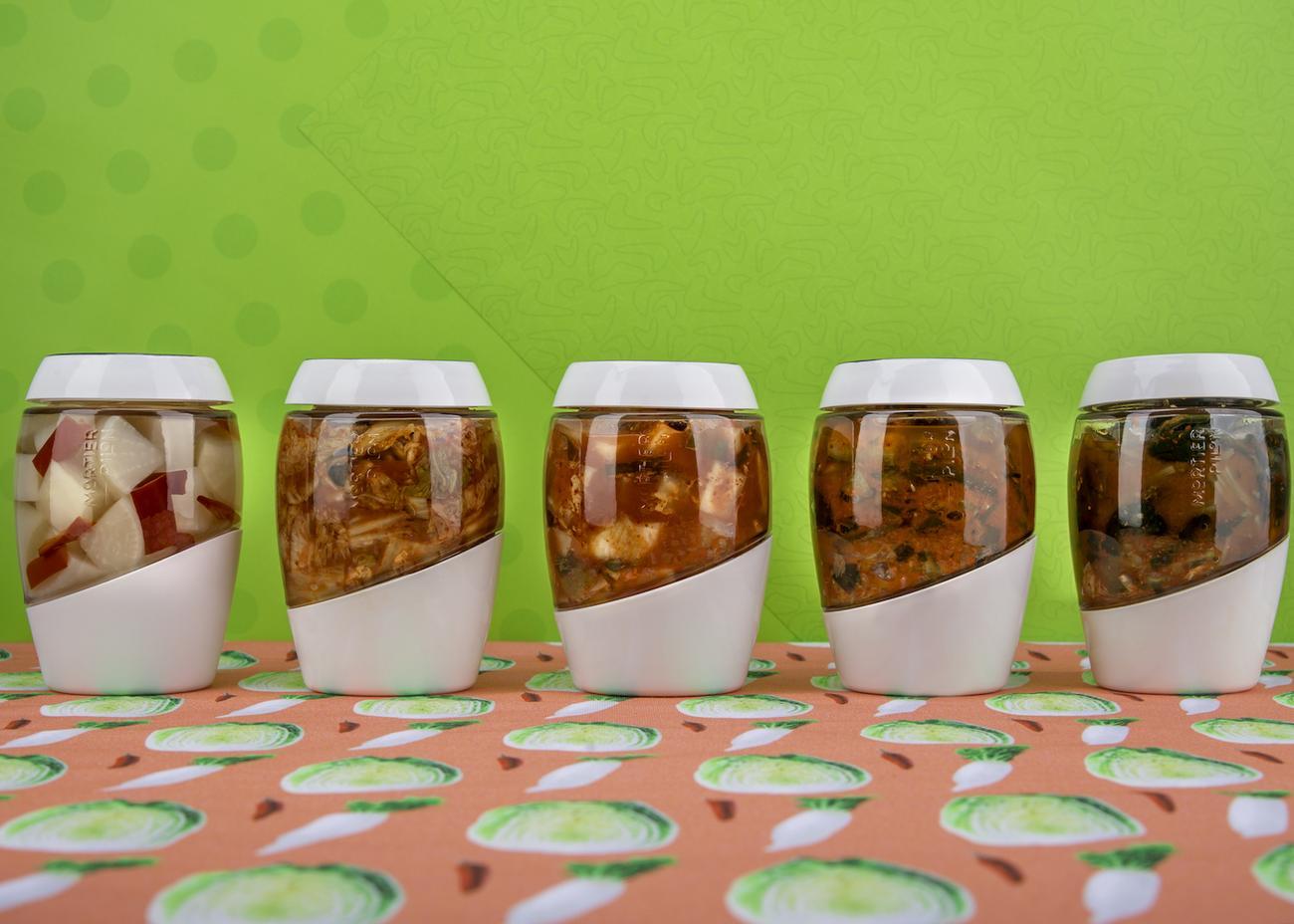 Fermentation Crock 2L – Kimchi Special Edition