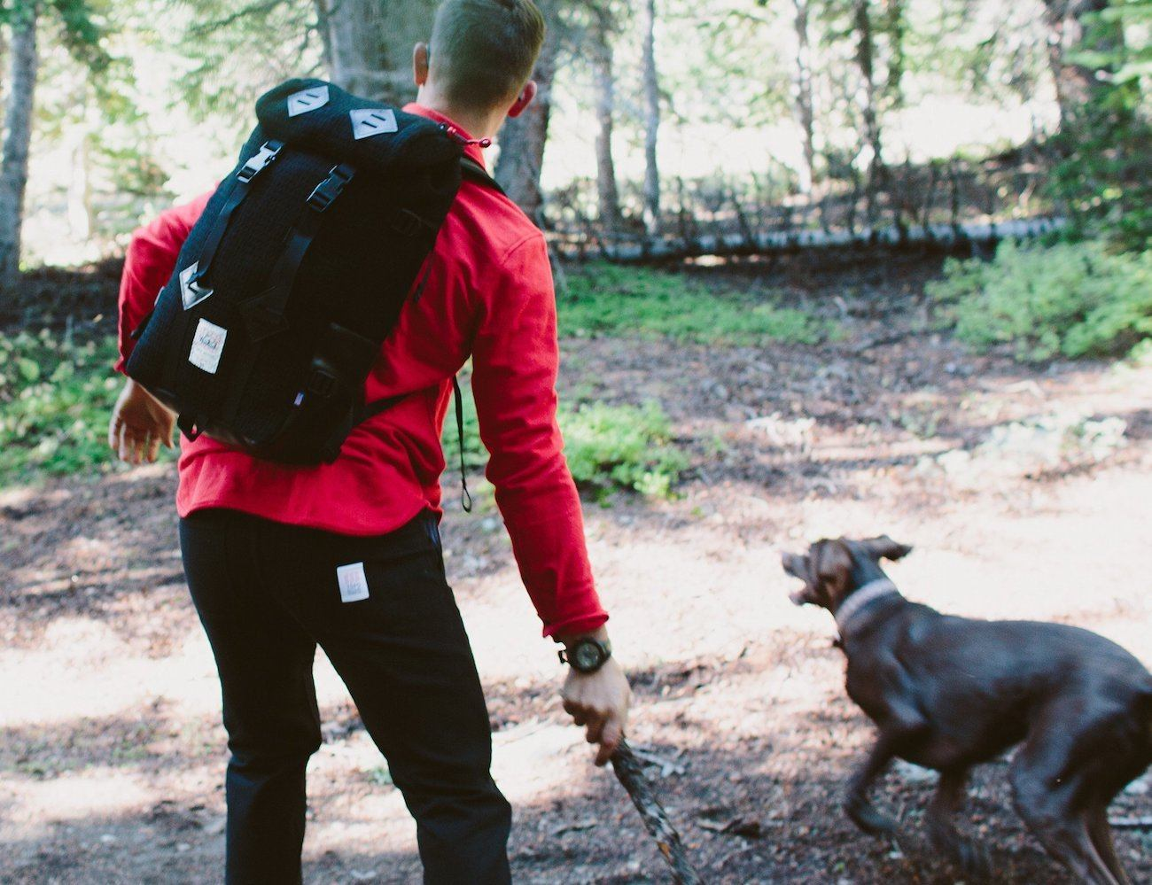 Klettersack Backpack by Topo Designs x Woolrich