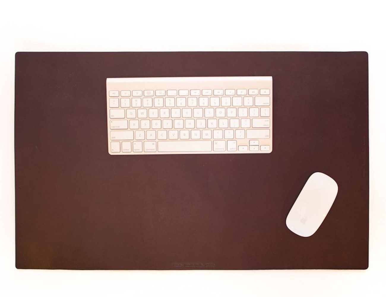 Leather Desk Pad by Wood & Faulk