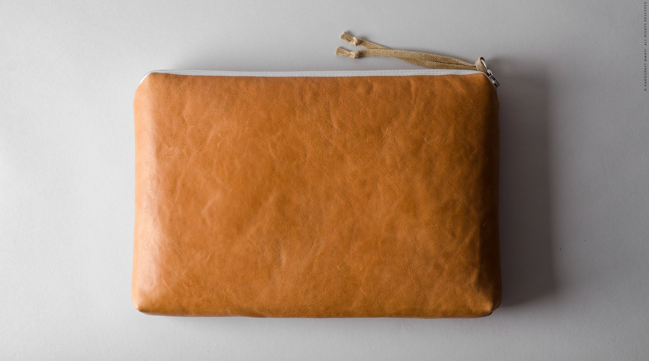 Leather Folio Volume Two from Hard Graft