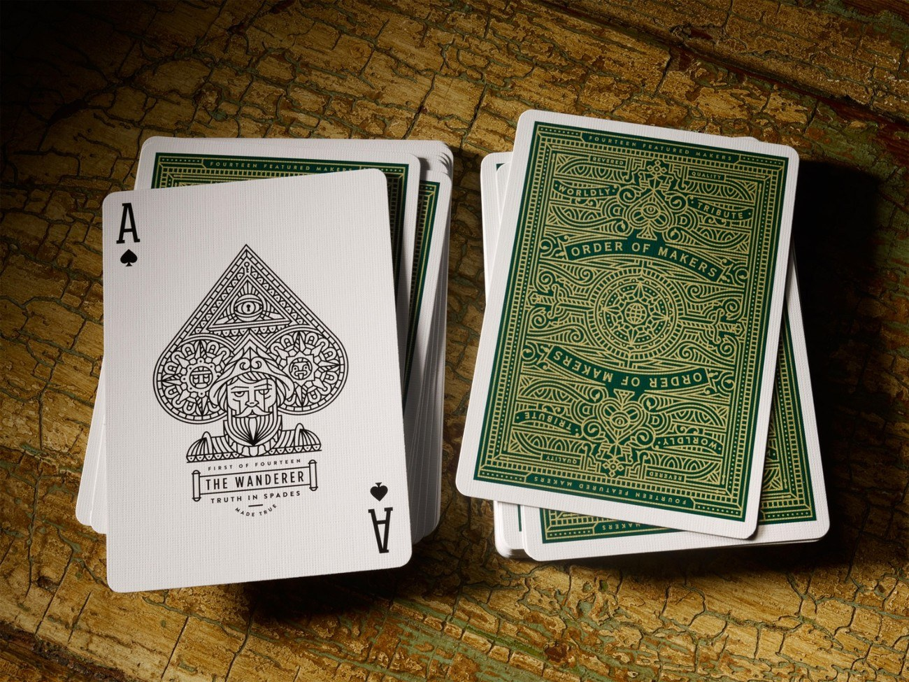 Makers Playing Cards and Luxury Box Set