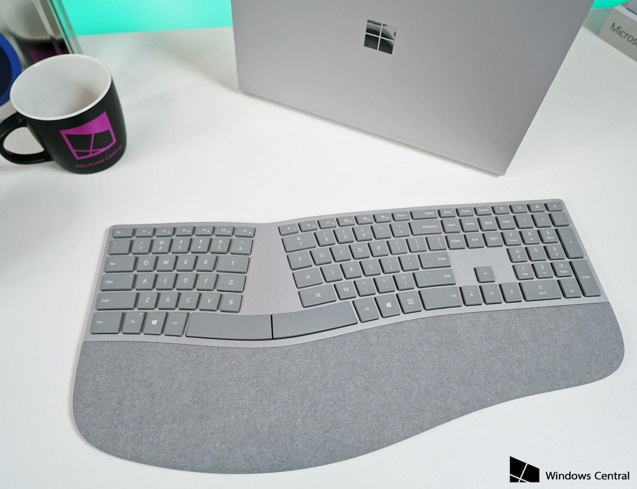 Microsoft Surface Ergonomic Keyboard Review 187 The Gadget Flow