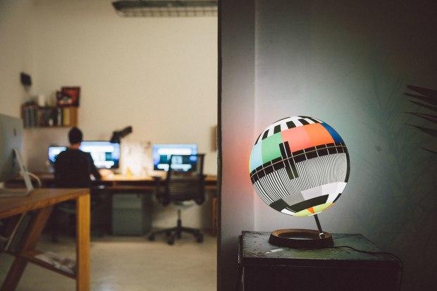 Mono Lamp TV-Inspired Lamp
