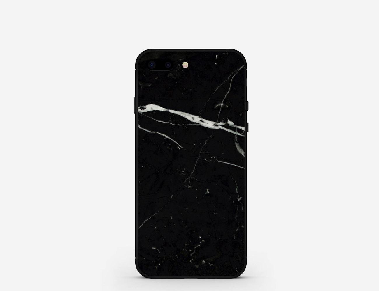 Nero Marquina Marble iPhone Case