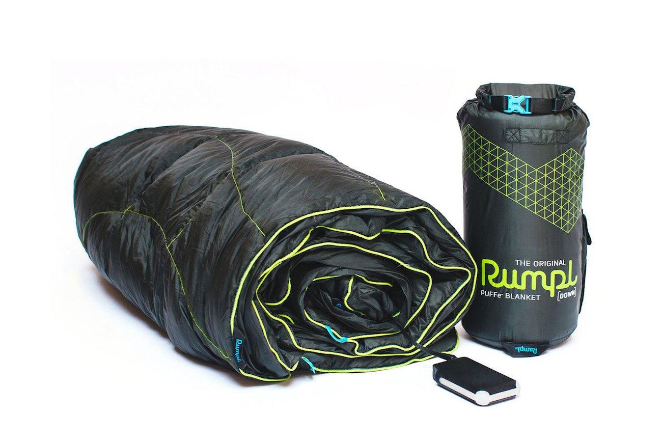 PUFFe Heated Blanket by Rumpl