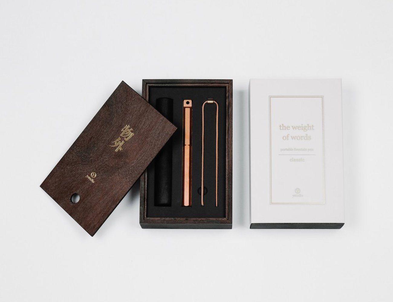 Portable Fountain Pen by Ystudio