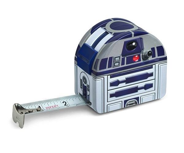 R2-D2 Tape Measure from ThinkGeek