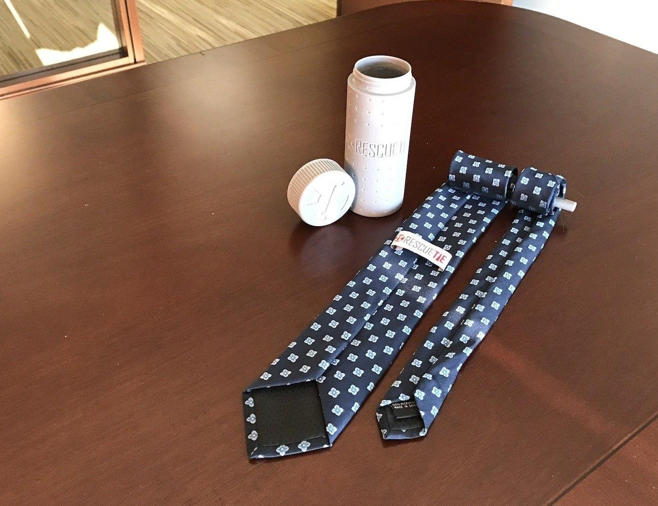 Rescue Tie – Rugged Tie Capsule for Neckwear Emergencies
