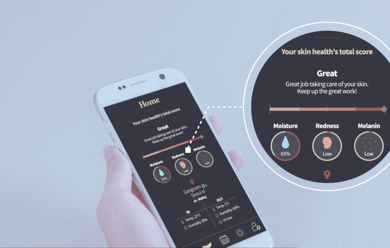 Samsung S-Skin Smart Skincare Solution