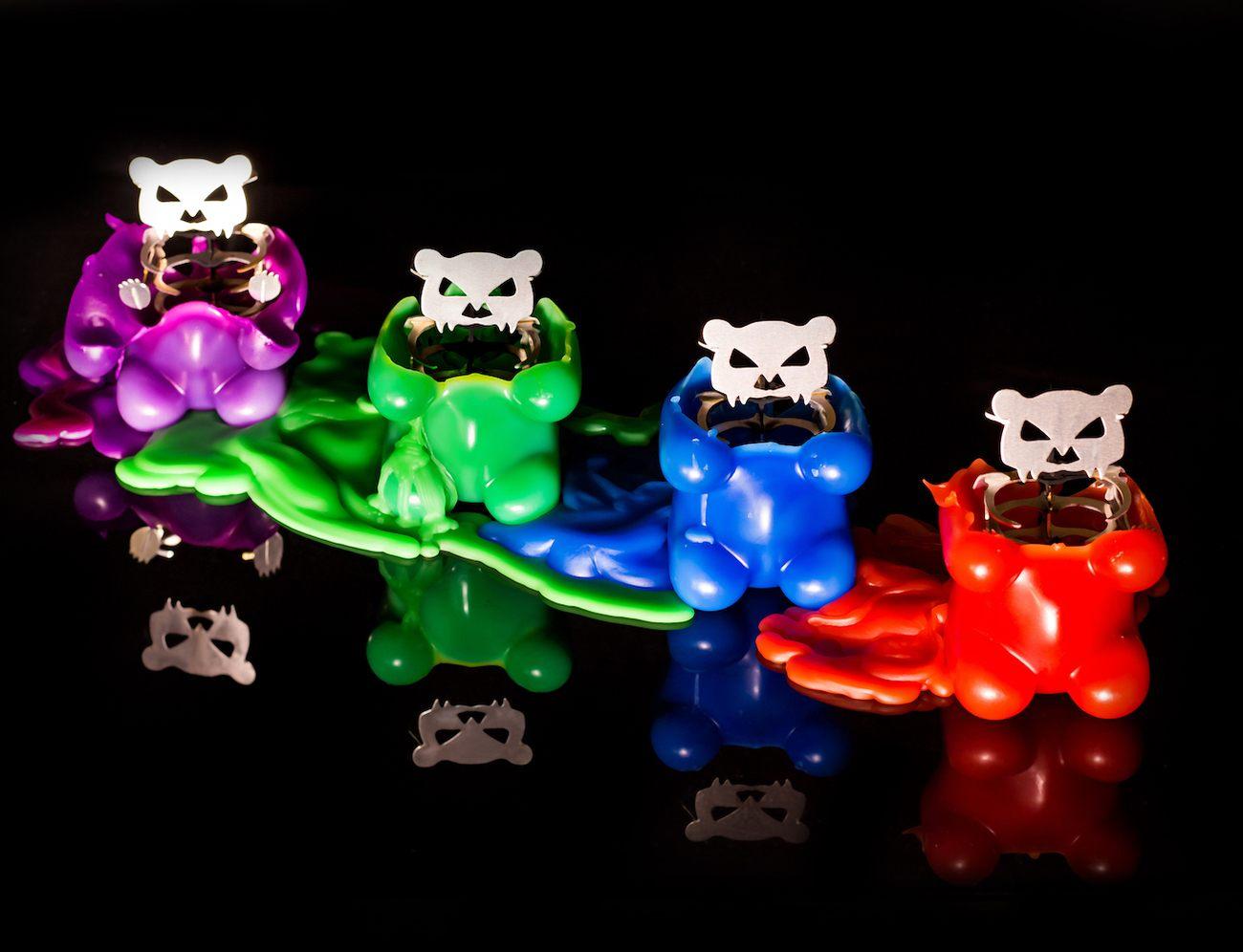 Skeleton Candles