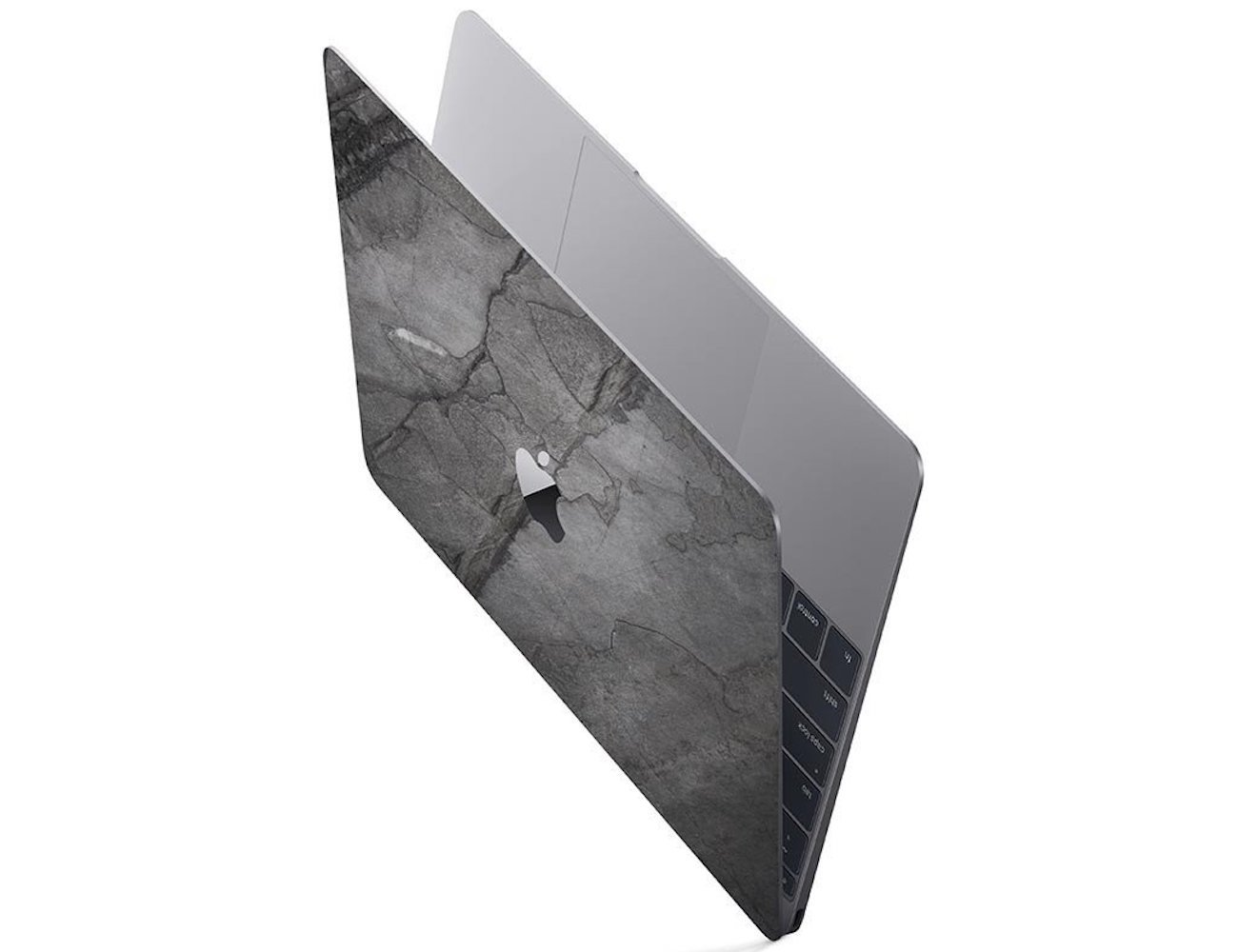 Slate Skin Black Impact Laptop Skin