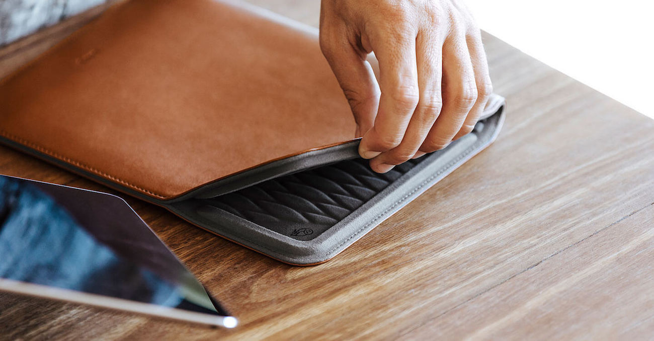 Slim Leather Tablet Sleeve by Bellroy