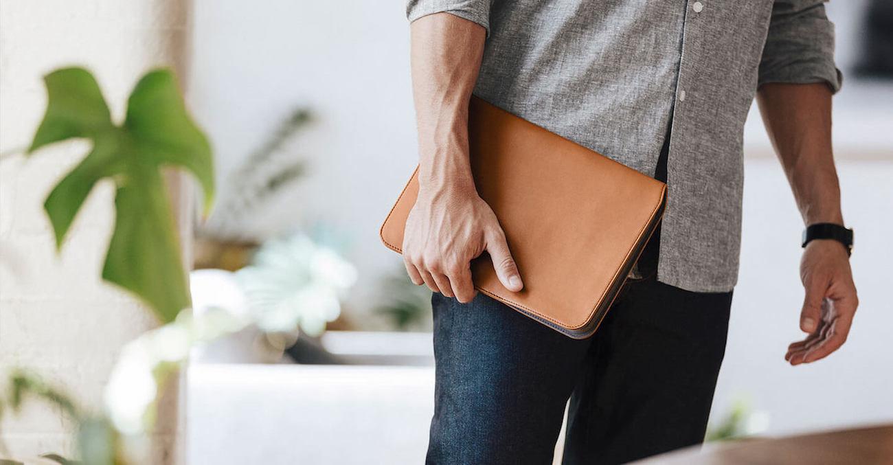 Slim+Leather+Tablet+Sleeve