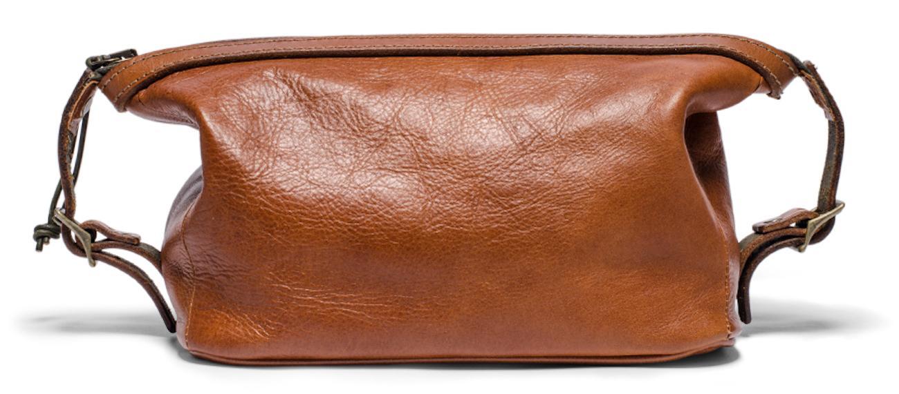 Soft Leather Dopp Kit by Kaufmann Mercantile